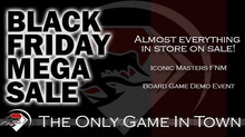 Black Friday Mega Sale!