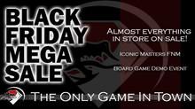 Black Friday Mega Sale!