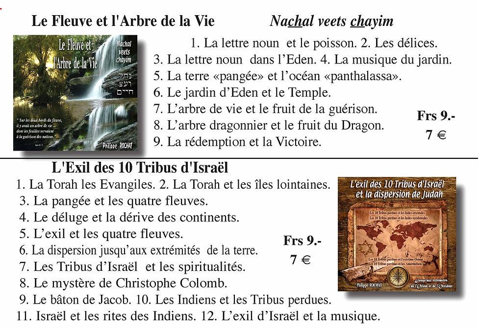 Fleuve de vie et exil 10 Tribus