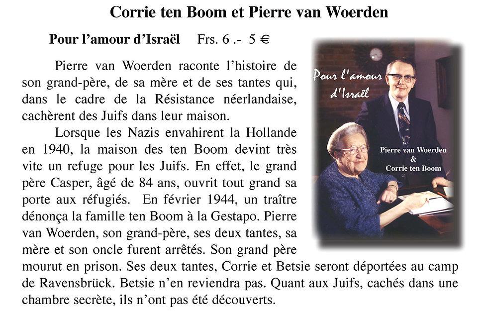 Pierre van Woerden et Corrie ten Boom