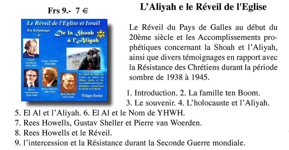 De la Shoah à l'Aliyah