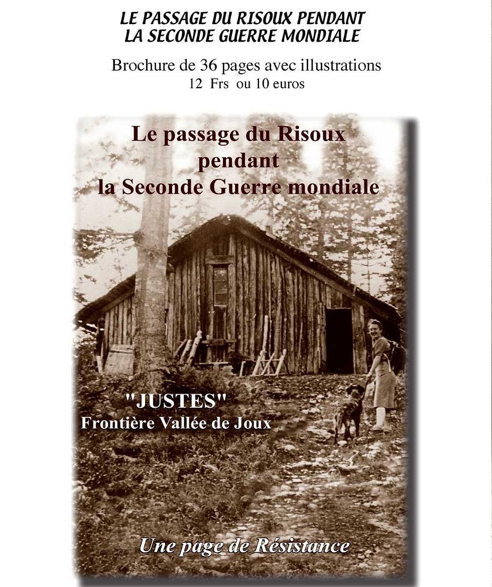 Justes frontière Vallée de Joux