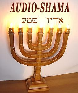 Ménorah Audio-Shama
