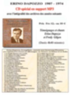 Audio-Shama MP3 témoignage intégral E. Dapozzo