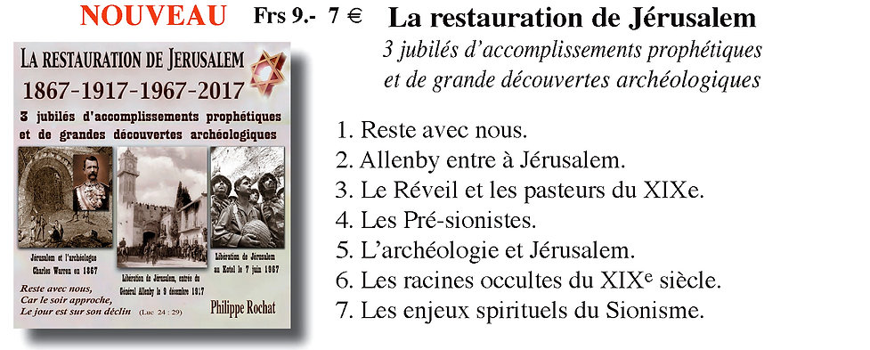 Restauration d'Israel 1897 1967 conférence Philippe Rochat.jp