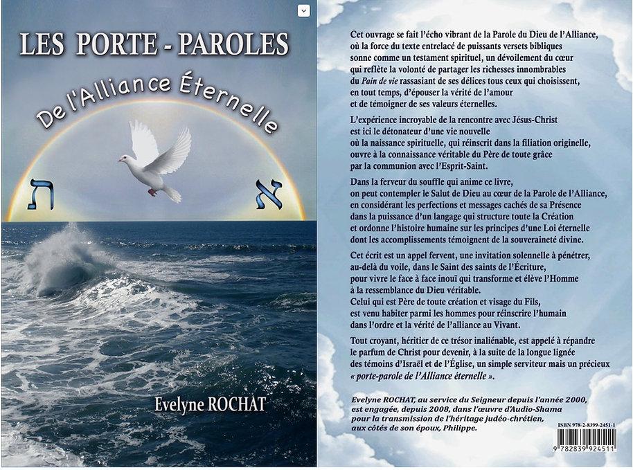 """Evelyne Rochat """"les Porte-Paroles de l'Alliance"""""""