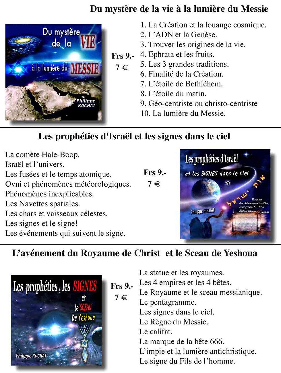 Mystères, prophéties et signes