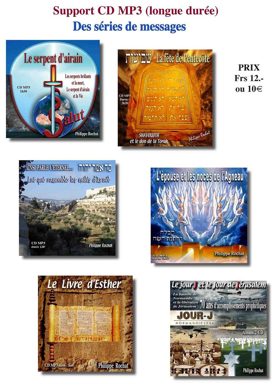 Etudes bibliques MP3