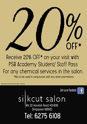 PSB Academy Promotion, Singapore Hair Salon