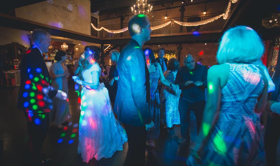 Wedding in Clayton, NC @ Brick & Mortar Events
