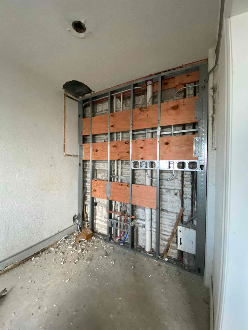Plumbing Stack Replacement