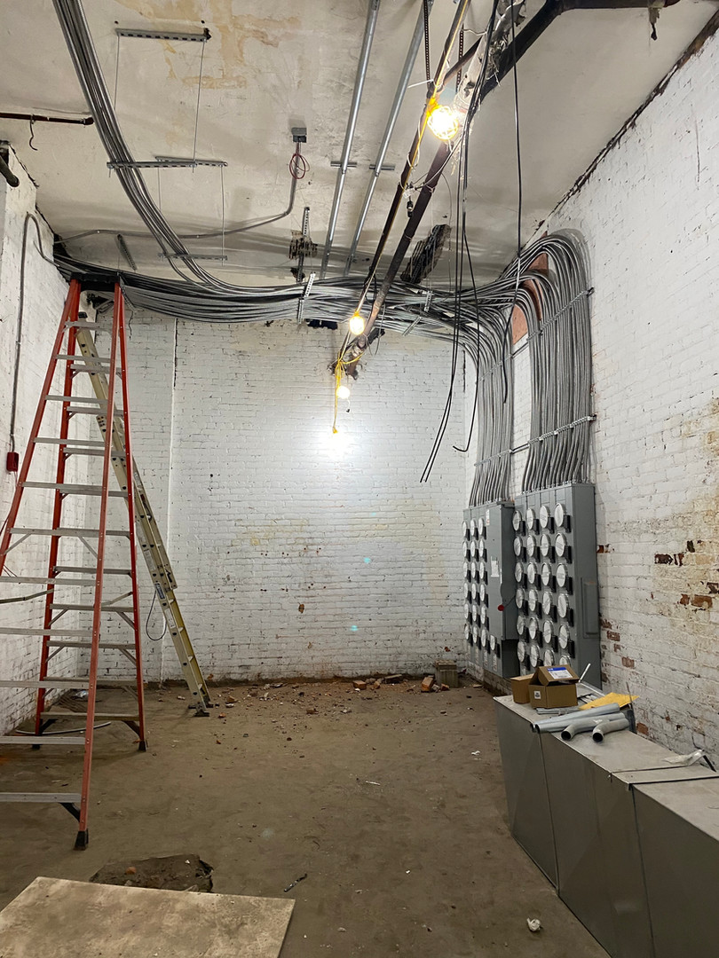New Electrical Room