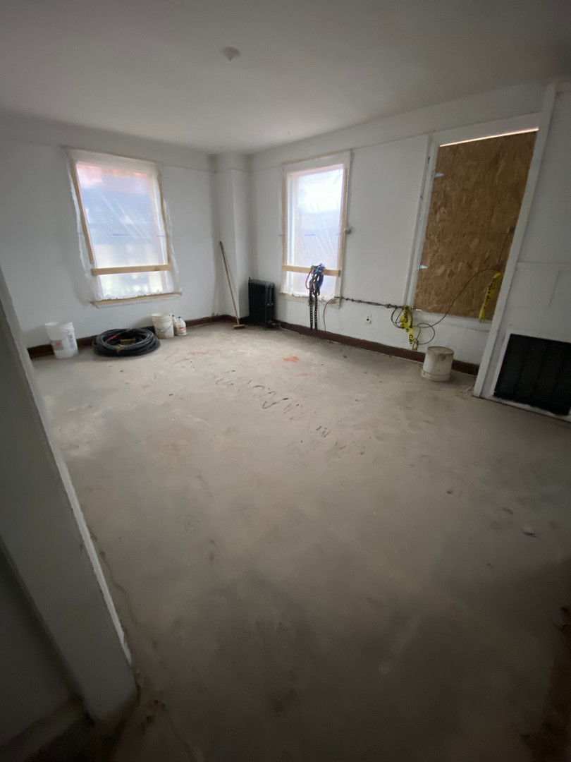 Unit Living Space Before/After Demo