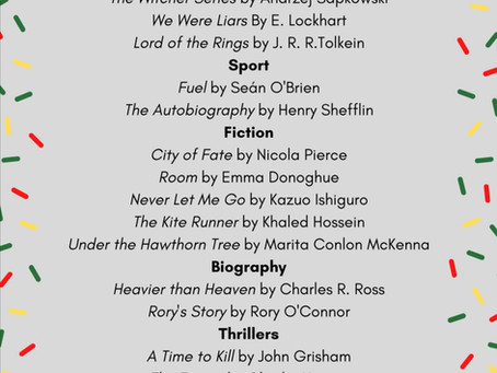 Book recommendations- Ireland Reads Day is Today!!