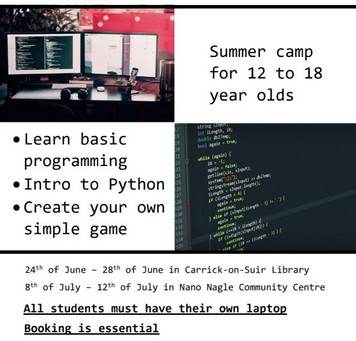 Summer Camp: Computers