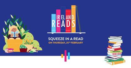 Ireland Reads Day Tomorrow- what to expect!