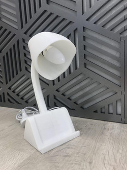 LED Lamp with Phone holder