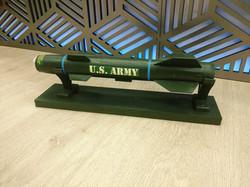 Student's Finished Model Rocket