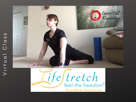 Something is new at Carrie Doll Kinesiology!