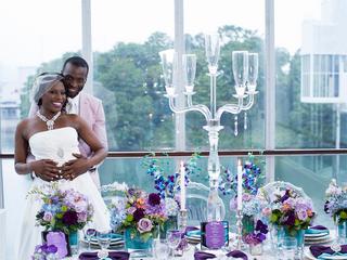 MunaLuchi Bridal: Dazzling Blue and Violet!