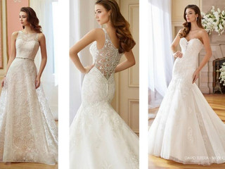 Fall 2017 David Tutera for Mon Cheri Trunk Show from September 15 - 24!
