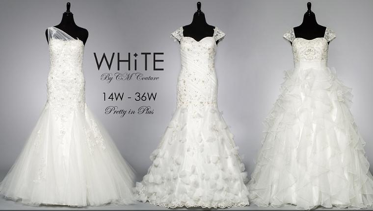 WHITE By CM Couture: Pretty In Plus