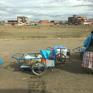 El Alto, way back from Tiwanaku