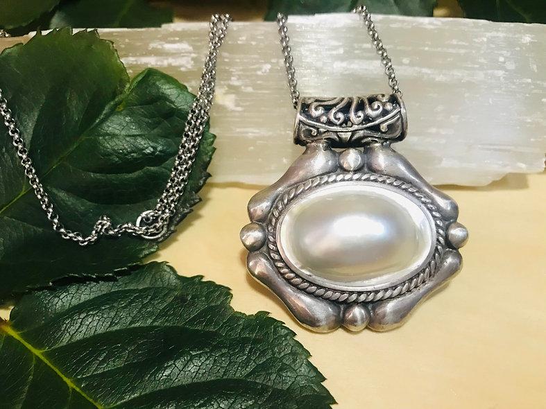 Large Pearl Pendant