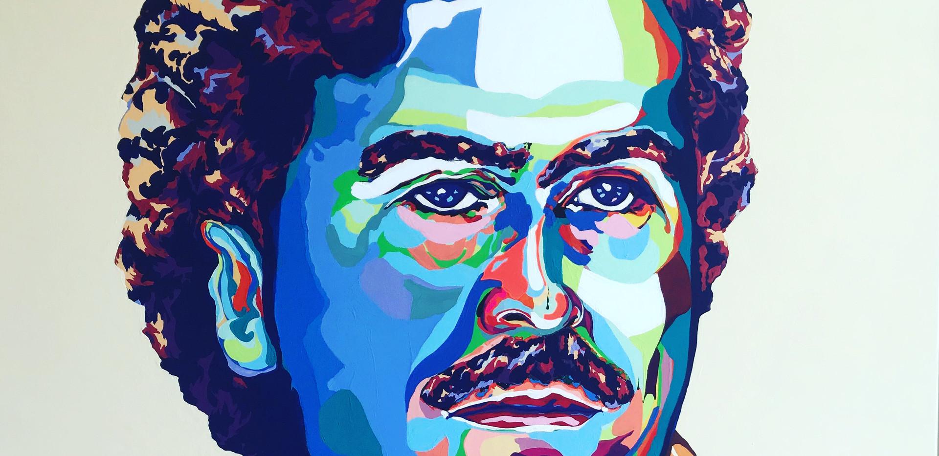 Young Pablo  Escobar