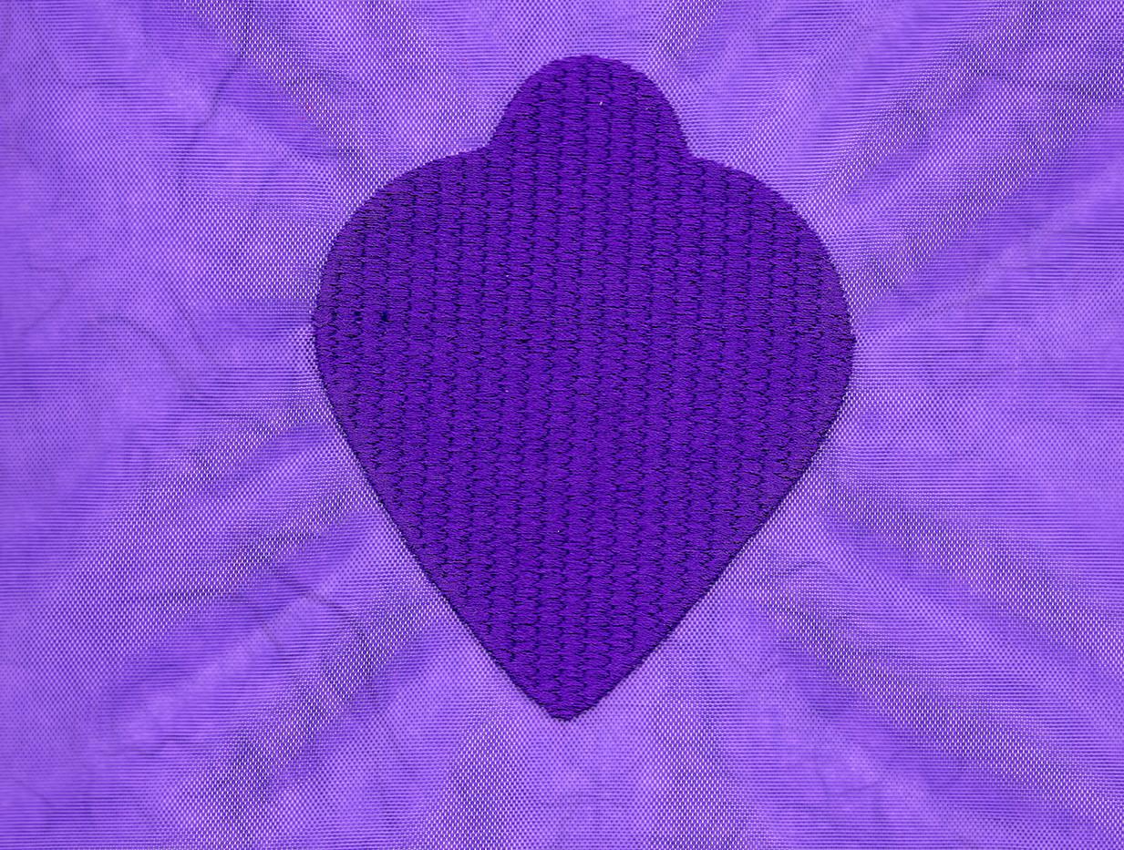 Purple Dog Tag: PTSD