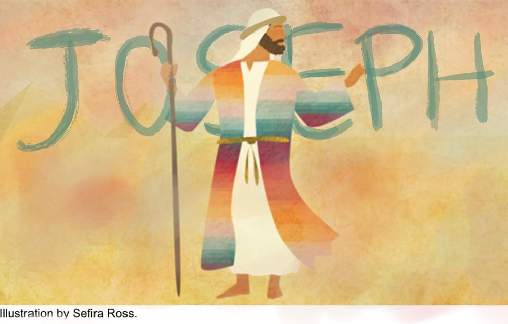 Joseph the dreamer illustration