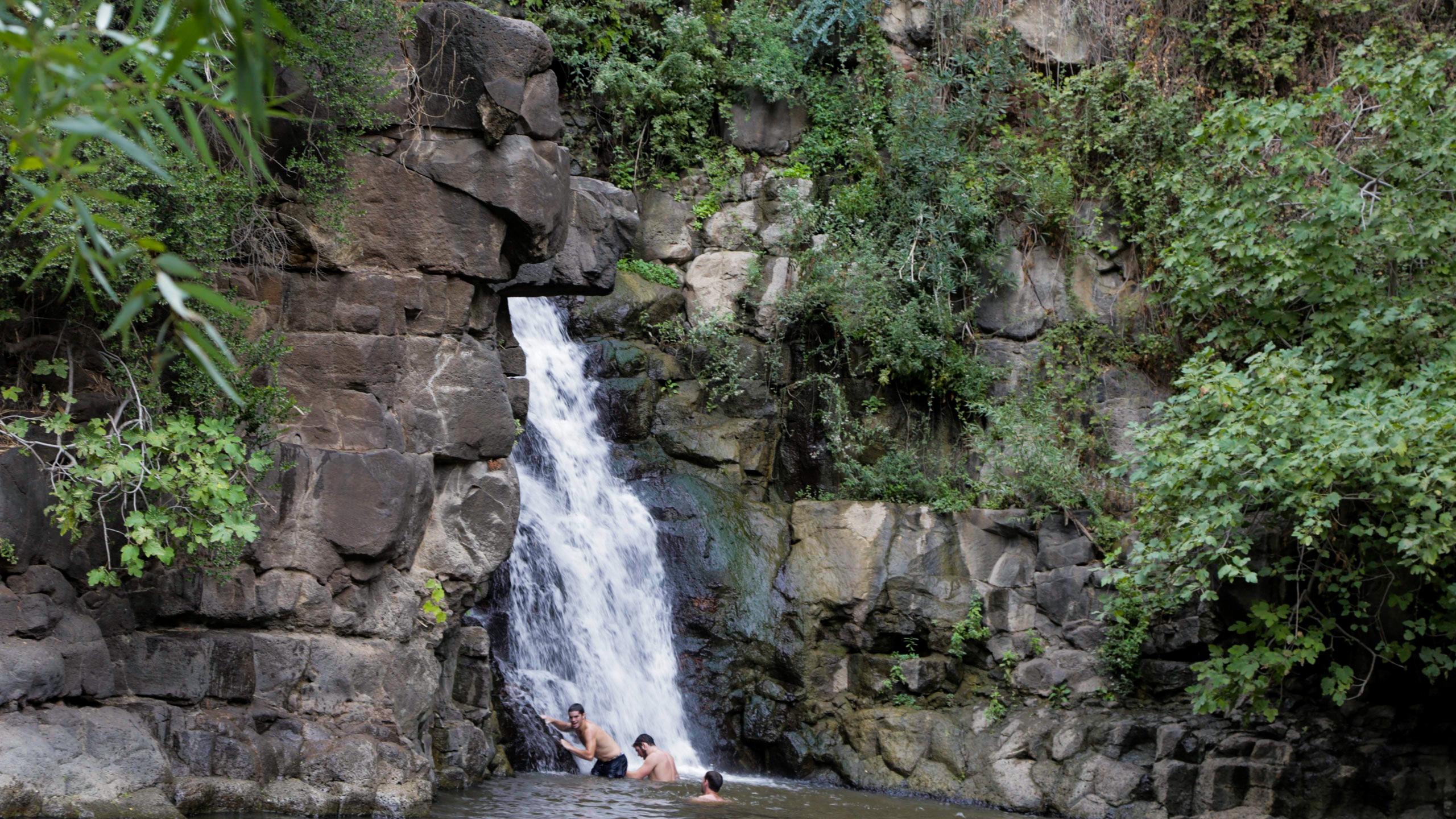 Waterfalls at Ein Gedi