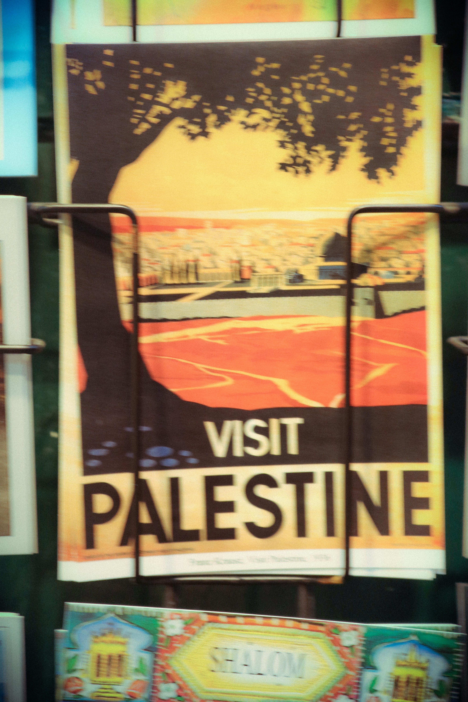 anti - Israel post cards