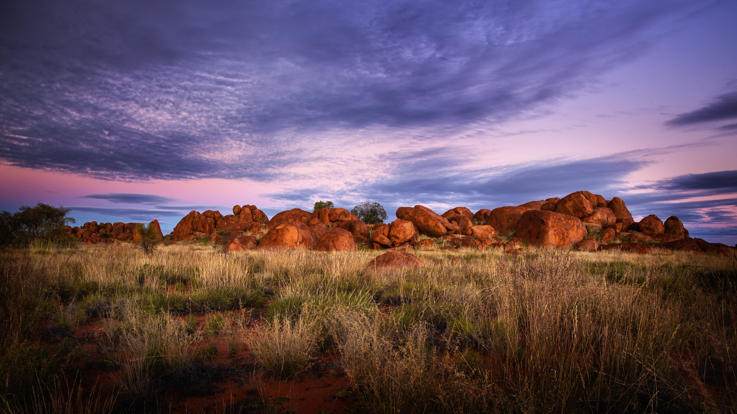Kintore Marbles Sunset