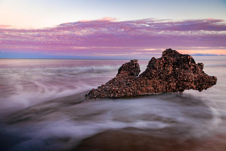 Landscape photo of Driftwood Beach, GA.