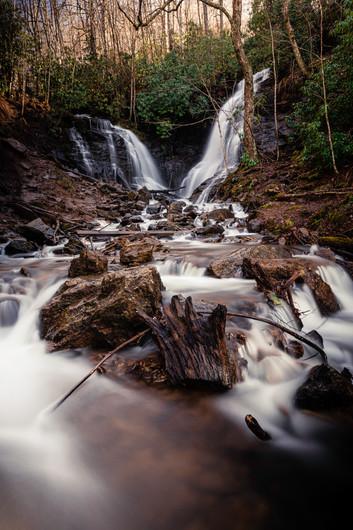 Long exposure of Soco Falls, NC.