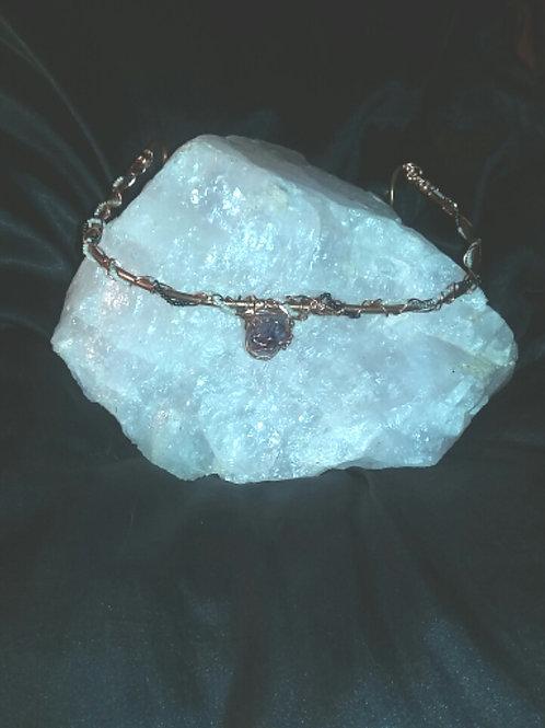 Goddess Jewel Crown - Amethyst