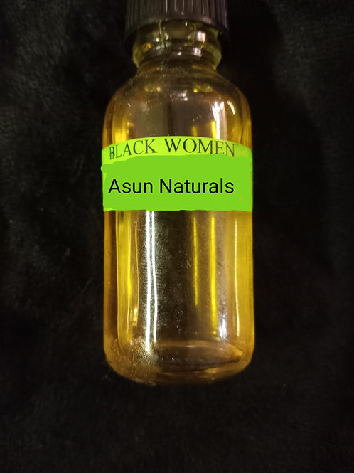 Black Woman Authentic Perfume Oil (1 full oz)