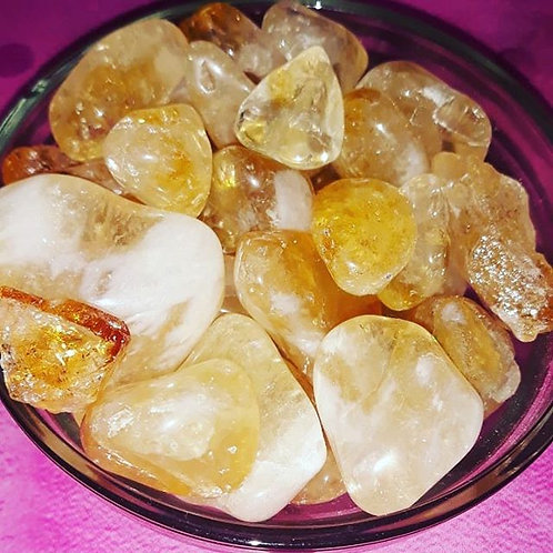 Citrine Crystal (2) you will receive