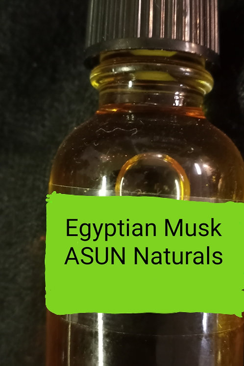Egyptian Musk  Authentic Perfume Oil 1 full oz.