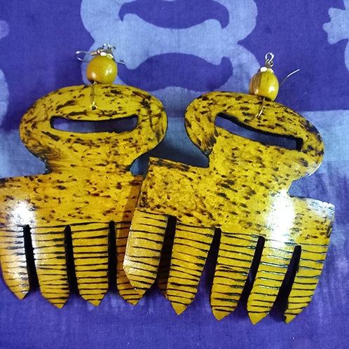 Duafe Calabash earrings (Ex-Large)