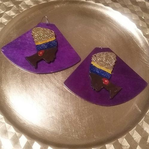 Headwrap Empress Earrings