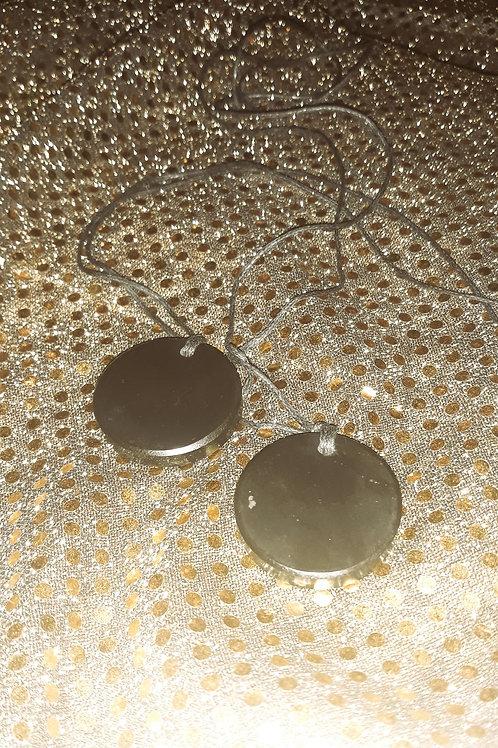 Shungite Emf Protection Stone Root Chakra Necklace