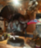 Donahue Taxidermy, taxidermist, turkey, full mount, flying, strutting, standing,