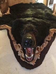 Taxidermy Tanning; Rugs; bear rug; wolf rug; pelt