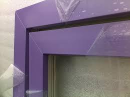 Вам требуется перекрасить пластиковое или алюминиевое окно?