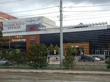 Оформление витрин магазинов. Окраска пластиковых конструкций. Новороссийск.