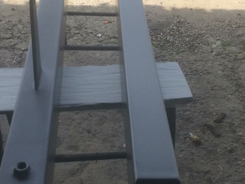 Шпатлевка, грунтовка, окраска металлоконструкций по технологии ЭНАМЕРУ.