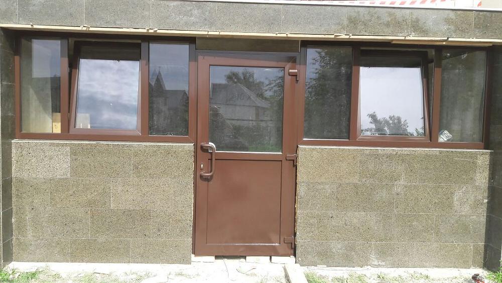 Энамеру Трейд Юг. Окраска пластиковых окон и дверей. Троицкий храм. Горячий ключ.