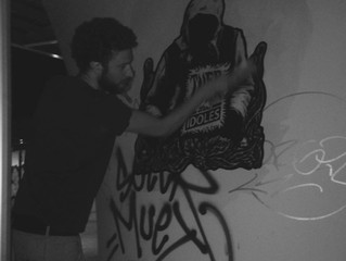 Art attack in Paris!